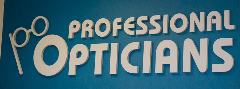 Professional Opticians Directions